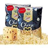 Cheesepop Emmentaler Käsebällchen XXL Beutel (2 x 500 g) frisch gepuffter Käse - der perfekte low-carb & keto Eiweiß Snack! 100 % Käse - OHNE Konservierungsmittel!