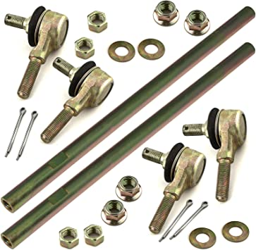 Caltric Two Sets Of Tie Rod End Kit for Polaris Magnum 500 2X4 4X4 1999 2000 2001 2002 2003