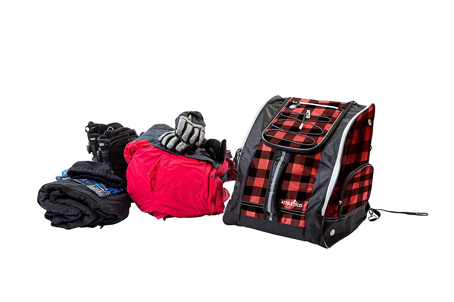 Goggles Stores Gear Including Jacket Helmet Athletico Ski Boot Bag Gloves /& Accessories Venting and Grommets for Snow Drainage Skiing and Snowboarding Travel Luggage