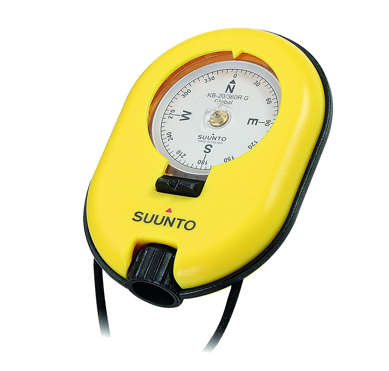 Suunto Kompass KB-20/360R G Compass Messer, gelb, 6.5 cm