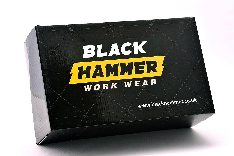 Botas De Seguridad S3 B079TP8944 Black Hammer Con Negro