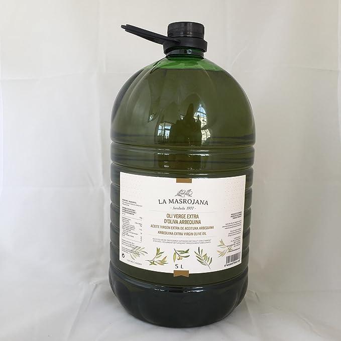 La Masrojana, Aceite de oliva (Virgen Extra, garrafa) - 5000 ml ...