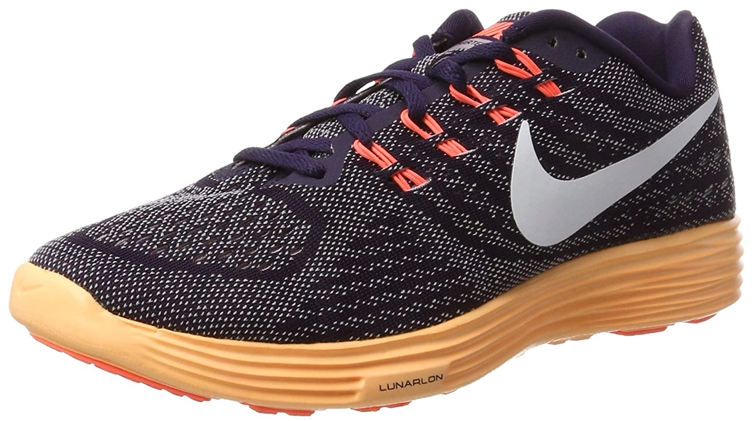 NIKE Women's Lunartempo 2 Running Shoe B01COKBYTE 10 B(M) US|Purple Dynasty/Bright Mango