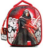 Star Wars Episode 7 The Force Awakens Kylo Ren First Order Stormstroopers Dome Lunchbox Lunch Bag with Molded Cover