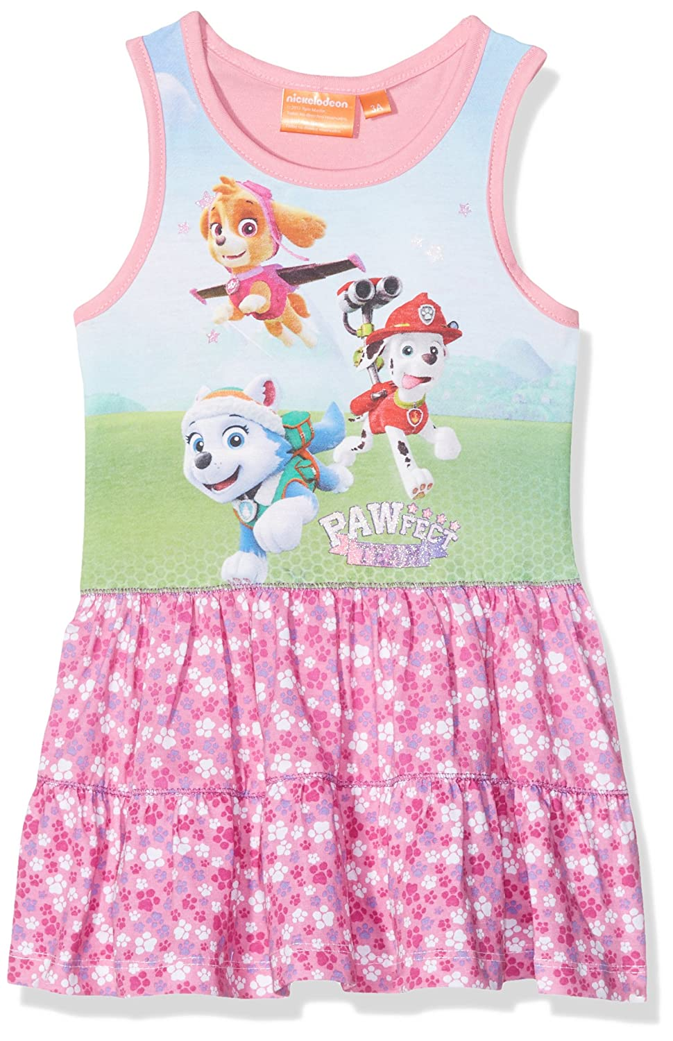 Nickelodeon Paw Patrol, Completo Sportivo Bambina Rosa Pink 2-3 Anni QE1417