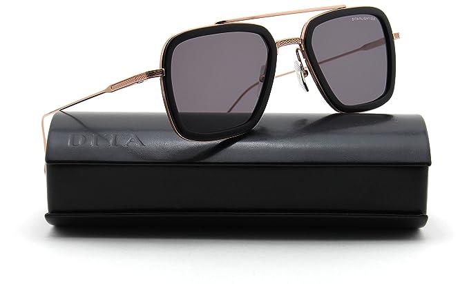5ca82a9e9319 Dita Flight.006 Unisex Aviator Sunglasses 18K Gold 7806-E  Amazon.ca ...