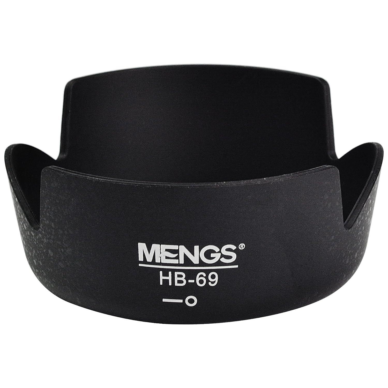 MENGS/® HB-69 Paraluce per Nikon AF-S DX 18-55mm F//3.5-5.6G VR II