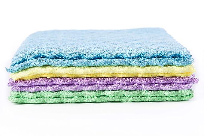 lavable a 95 grados. 20 x 18 cm aprox 20 unidades de pa/ños de cocina de esponja