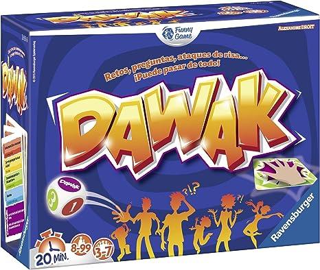 Ravensburger - Funny Games Dawak, Juego de Mesa (26722): Amazon.es: Juguetes y juegos