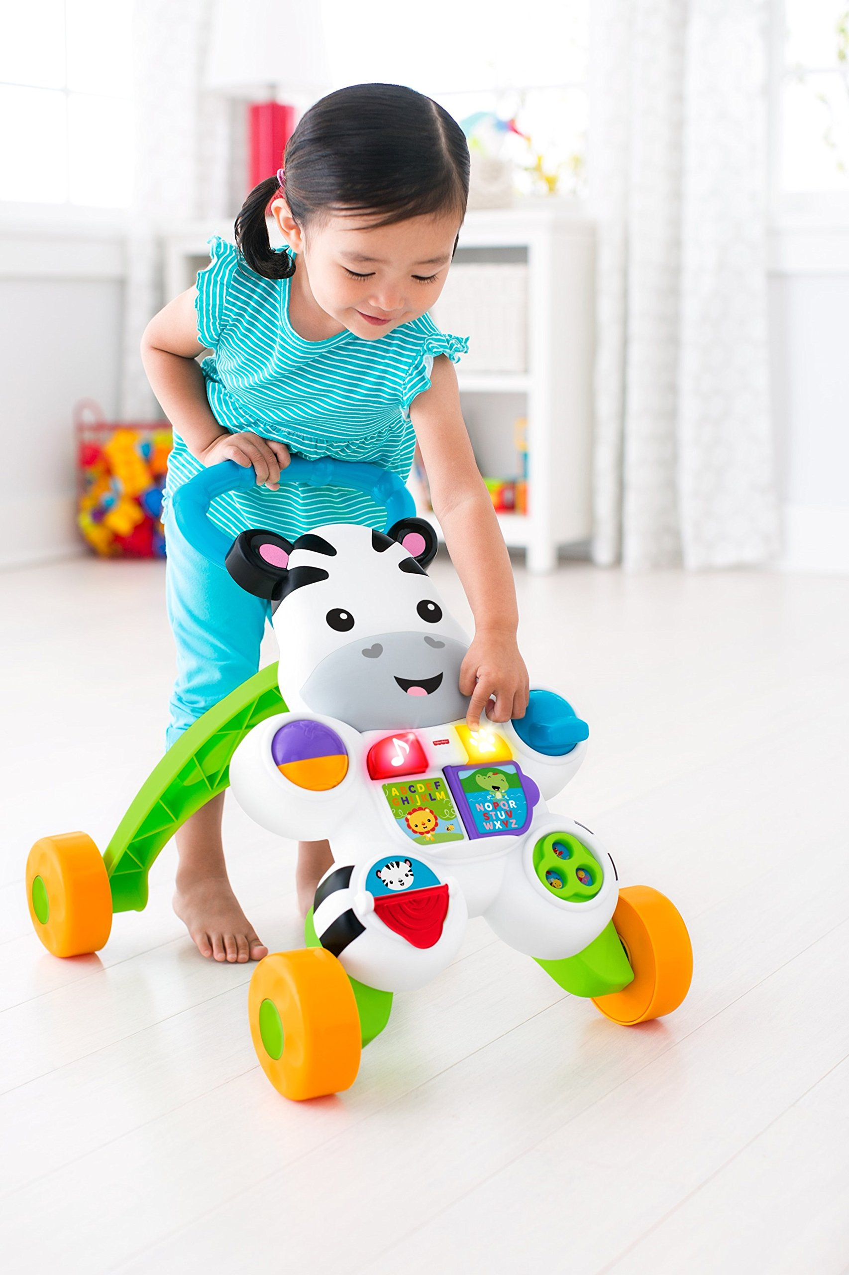 Fisher-Price Learn with Me Zebra Walker by Fisher-Price (Image #10)