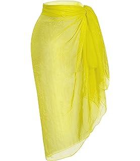 a0640da2126 Janestone Women Plus Size Spaghetti Strap Backless V Neck Cover up ...