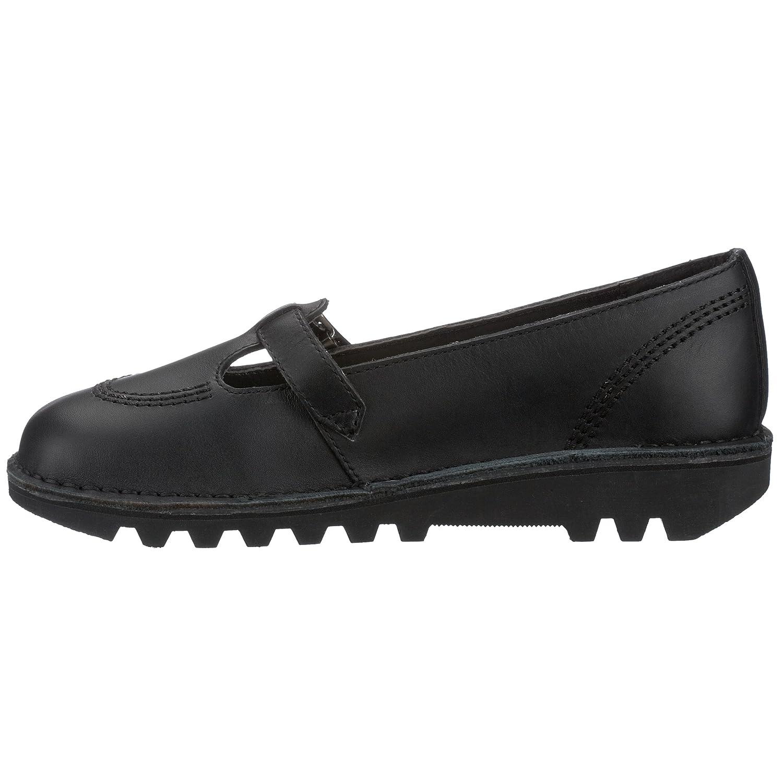 Kickers Kick Lo T W Core, Scarpe Modello Jane Mary Jane Modello da Donna Nero (Black/Black/Black) 55f864