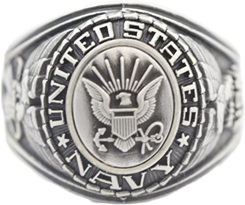 US Navy Military Ring United States Navy Veteran Ring