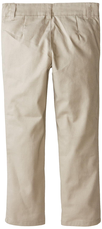 Genuine Little Girls Straight Leg Flat Front Pants
