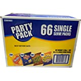 Variety Party Pack 66 Single Serve 17g Multi Packs - Twisties Burger Rings Cheetos Original Chips Bulk Value Pack