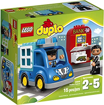 LEGO Duplo Town Police Patrol 10809 Toddler Toy