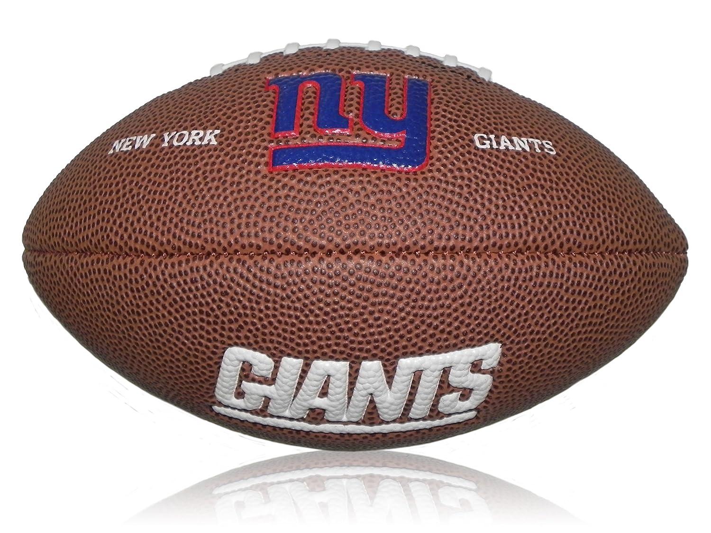 Wilson Football NFL Giants Logo, Braun, Mini, WL0206244220
