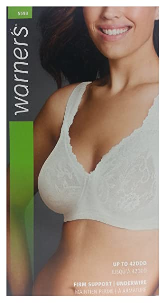 47b4fab70ceb0 Warners Women s Lace Full Coverage Underwire Bra  Amazon.ca  Clothing    Accessories