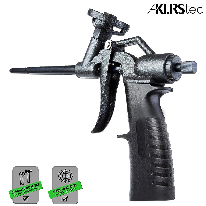 klrstec Pistola de espuma de poliuretano de teflón (PTFE) profesional de calidad montaje Pistola Diseño Pistola de espuma: Amazon.es: Bricolaje y ...