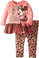 Disney Baby Girls' Minnie Mouse Legging Set With Tulle, Glasses