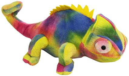 Wild Republic Chameleon Plush, Stuffed Animal, Plush Toy, Gifts for Kids, Cuddlekins