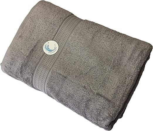 Cazsplash - Juego de toallas (algodón orgánico, 650 g/m²), color ...