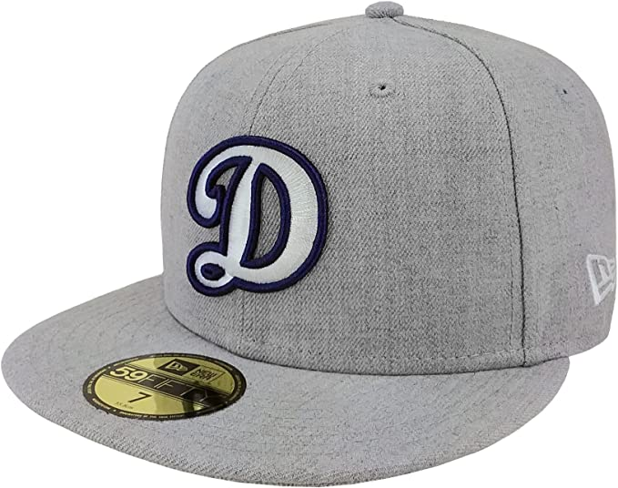 arriving pretty nice best authentic Amazon.com: New Era 59Fifty Hat MLB Los Angeles Dodgers Fitted ...