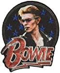 C & D Visionary David Bowie Stars - Parche termoadhesivo con purpurina (P-4603-G)