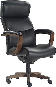LaZBoy Greyson Executive Office Chair, Black