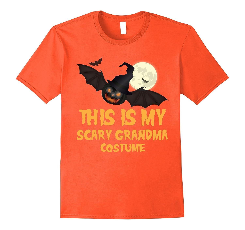 this is my scary grandma costume adult halloween t shirt fl sunflowershirt