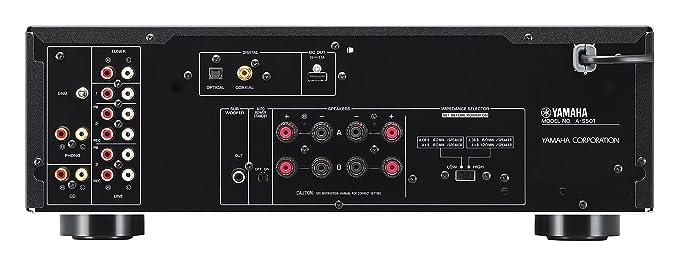 Yamaha A-S501 - Amplificador integrado estéreo de 120 W por canal, color negro: Amazon.es: Electrónica