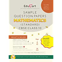 Educart CBSE Sample Question Papers Class 10 Mathematics (Standard) For February 2020 Exam
