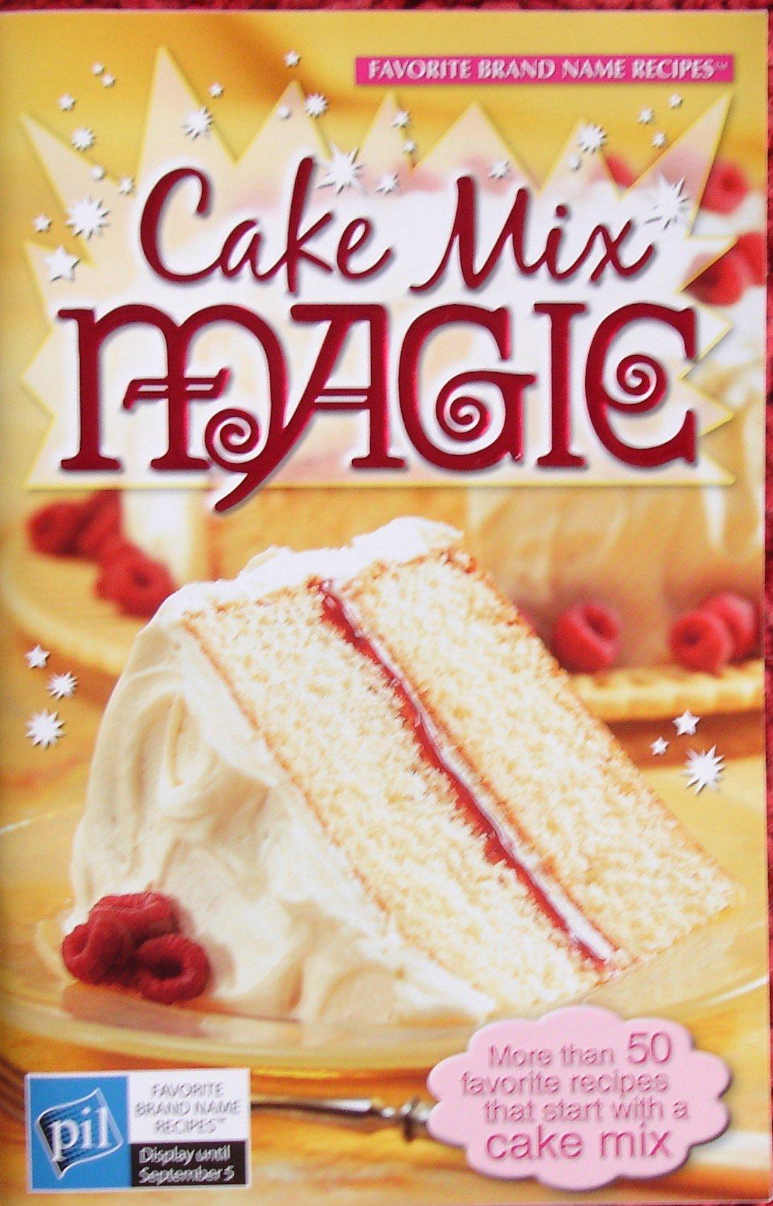 Download Cake Mix Magic ... More than 50 favorite recipes that start with a cake mix (Vol 8, No 20) PDF