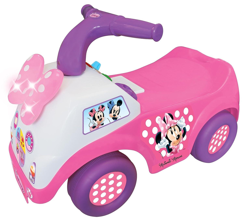 Disney Minnie Mouse Rutschauto - Rutscher Kinderauto Laufwagen Minni Maus 12-36 Kiddieland 871125253388
