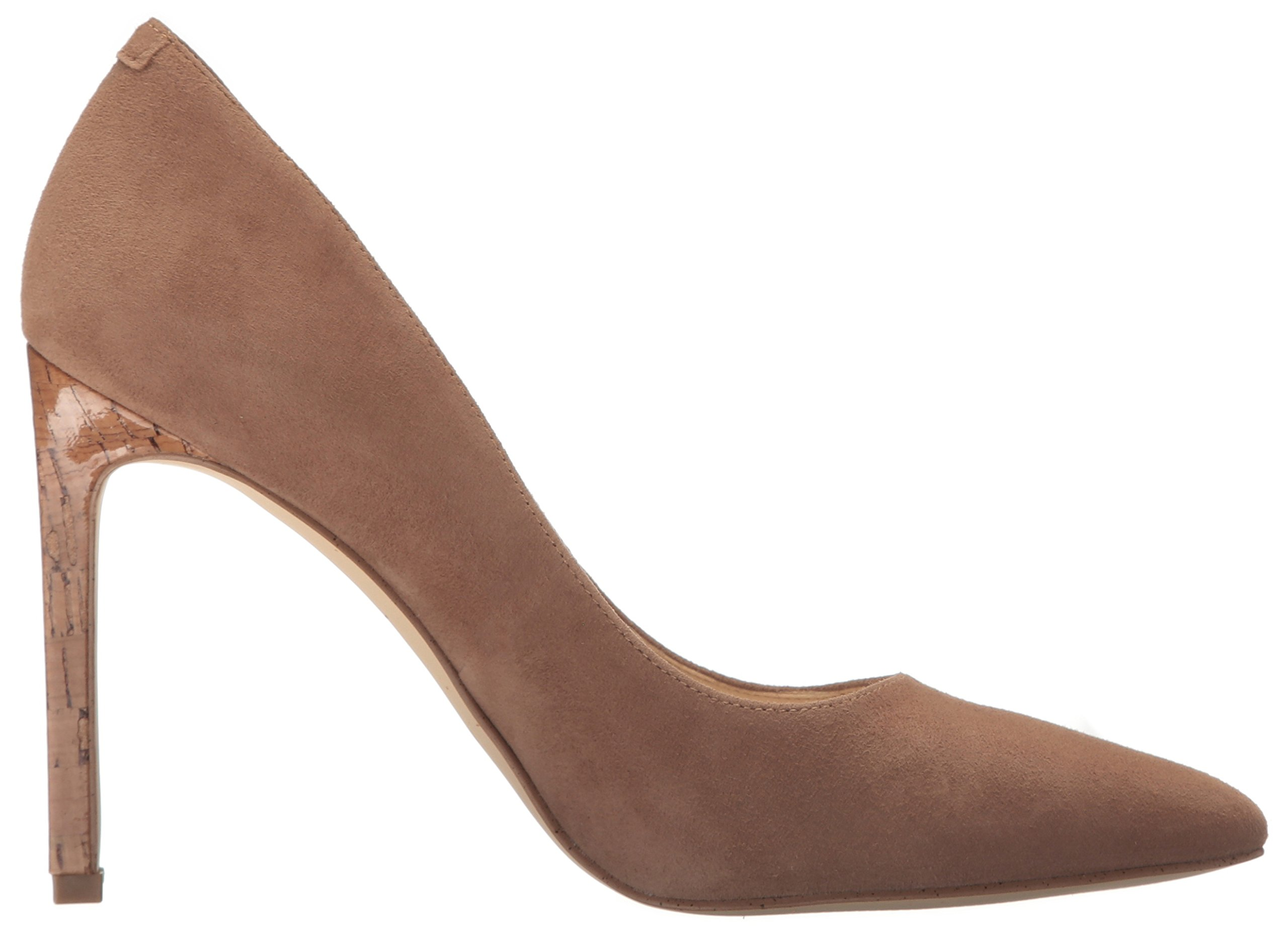 Nine West Women's Tatiana Suede Dress Pump, Dark Natural, 8 M US by Nine West (Image #7)