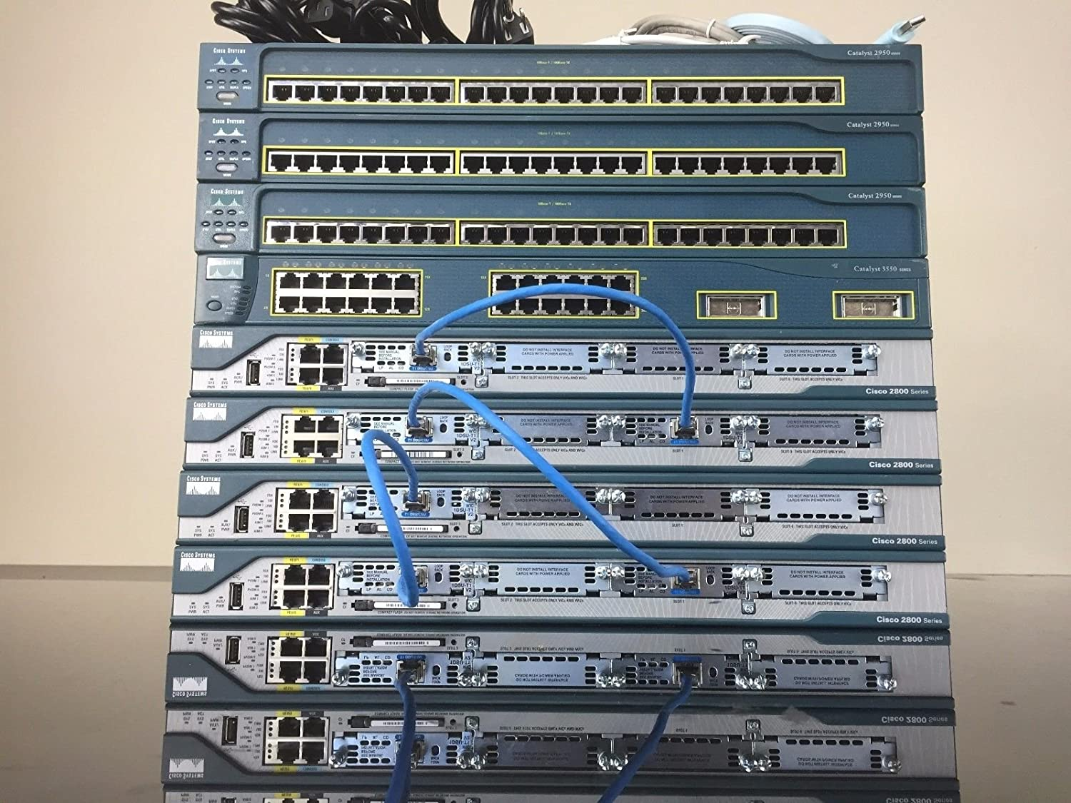 Ultimate Cisco CCNA and CCNP Complete Home lab kit 15.1 iOS CME 8.6