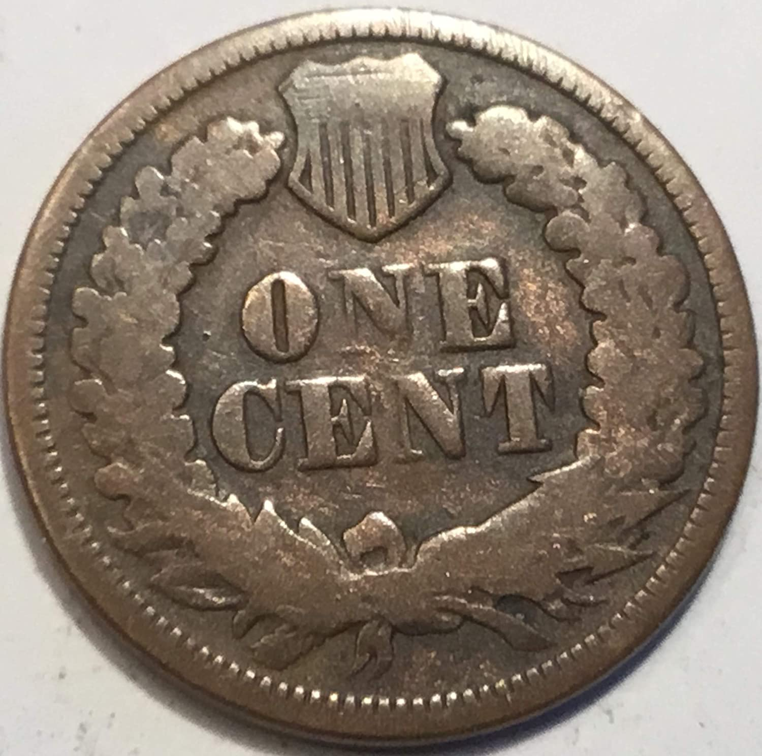 1867 Indian Head Penny Good at Amazon's Collectible Coins Store