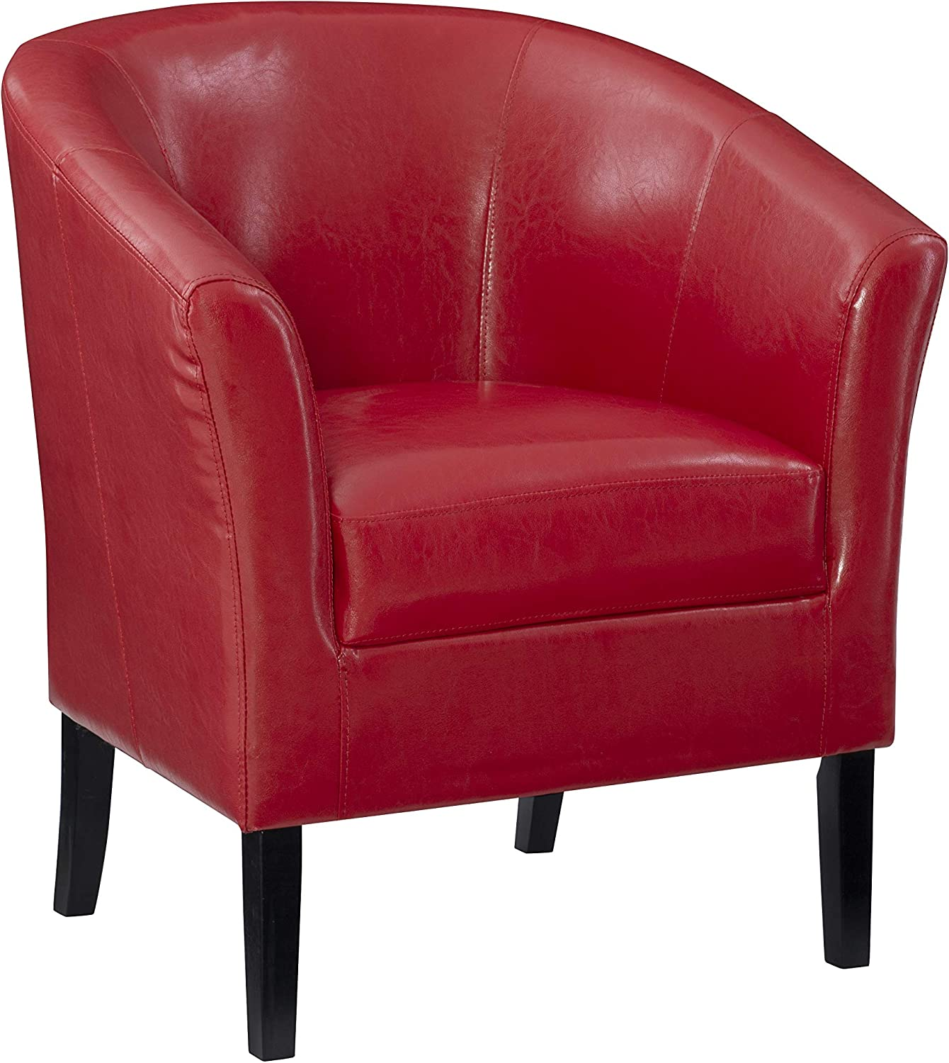 Linon Chair, Red