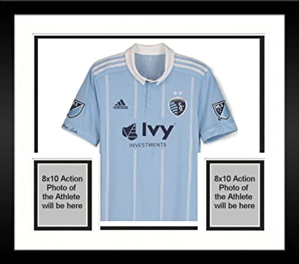 4a881aaf0 Framed Graham Zusi Sporting Kansas City Autographed Match-Used Blue ...