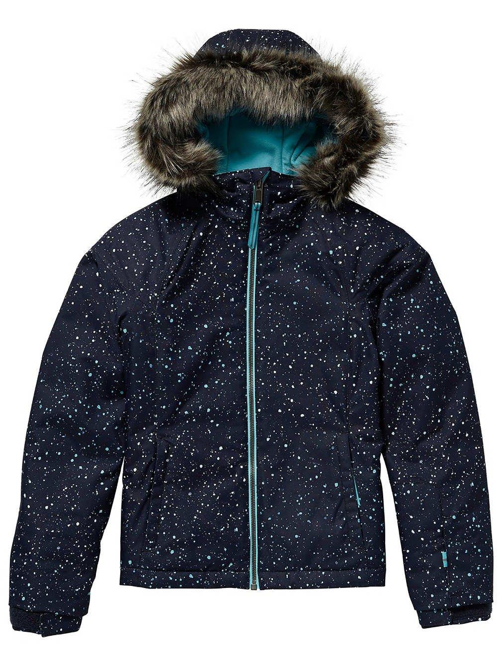 bleu aop w blanc 164 cm O'Neill Curve Veste de Snowboard pour Fille 5XL