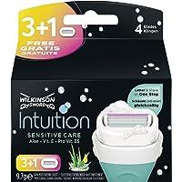 Wilkinson Sword Intuition Sensitive Care 3 Rasierklingen + 1 Klinge Gratis