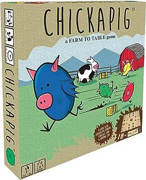 Buffalo Games Chickapig A Strategic Board Game
