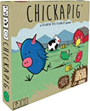 Buffalo Games Chickapig Board Game - A Strategic Board Game Where Chicken-Pig Hybrids Attempt to Reach Their Goal While Dodgi