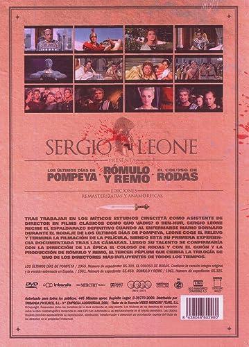 Pack Sergio Leone [DVD]: Amazon.es: Varios: Cine y Series TV