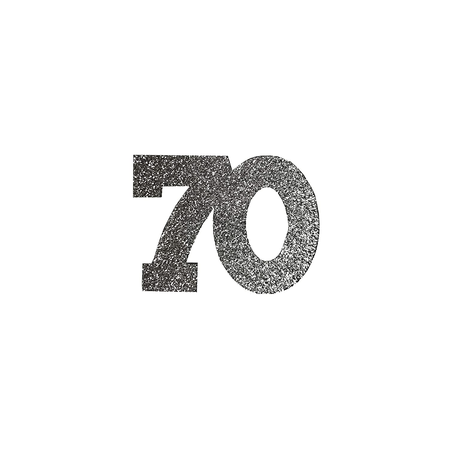 Seventieth Birthday Party Decorations 70th Anniversary Confetti 70th Birthday Glitter Table Confetti Parents Anniversary Party Decor Custom Number 70 Confetti Adult Birthday Party Ideas 25 Pack