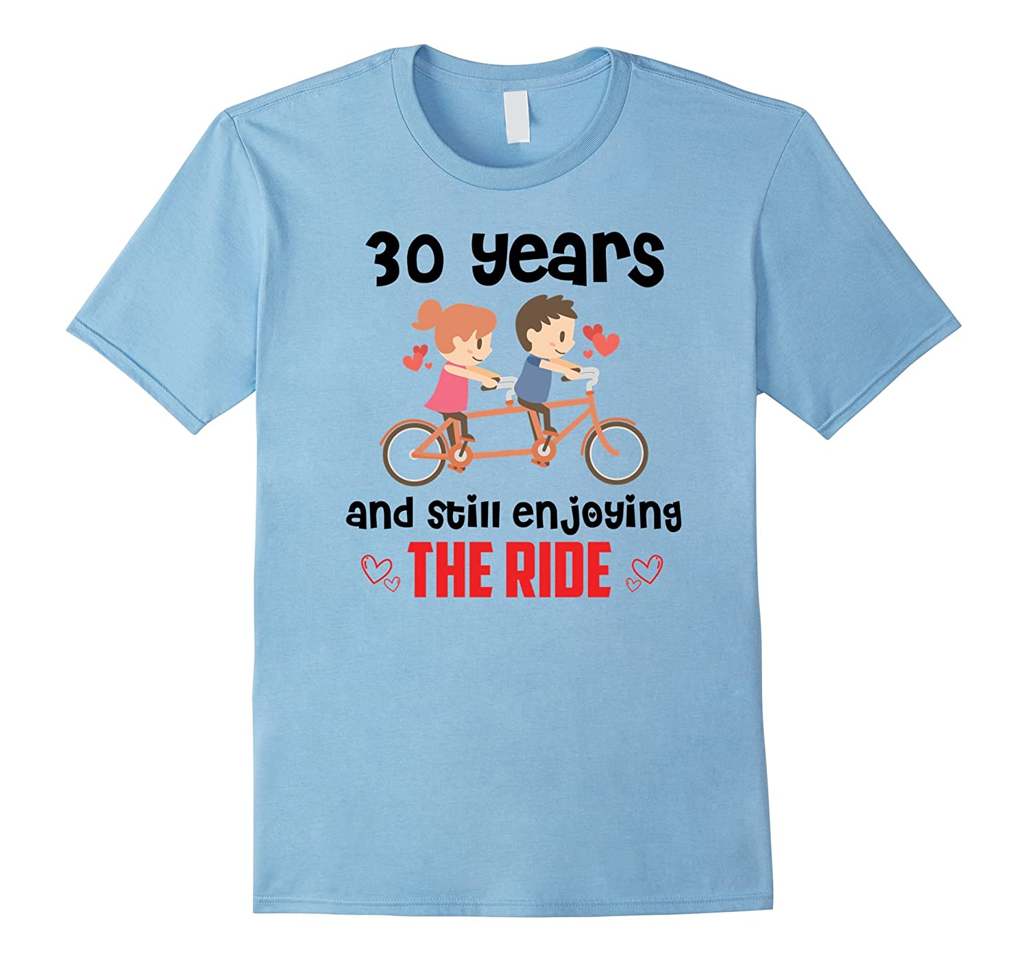 Wedding Anniversary Gifts 30 Years: 30 Years Wedding Anniversary Gifts Ideas T-Shirt-Art