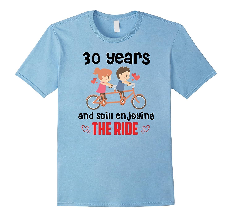 30 Years Wedding Anniversary Gifts Ideas T-Shirt-Art