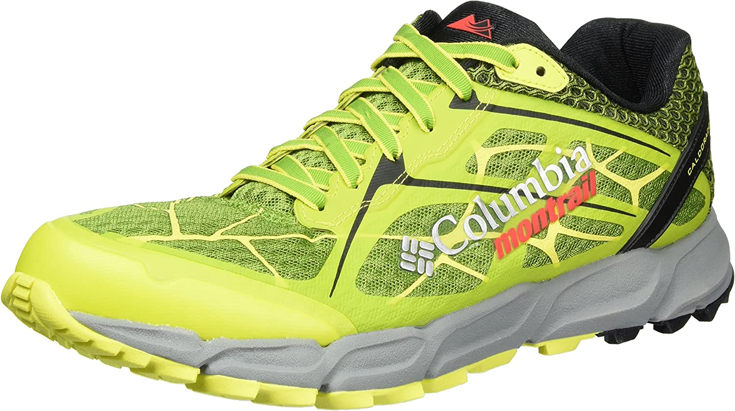 Columbia BM4571, Zapatillas de Running Hombre, Multicolor (New Leaf Green/Zour), 41.5 EU: Amazon.es: Zapatos y complementos
