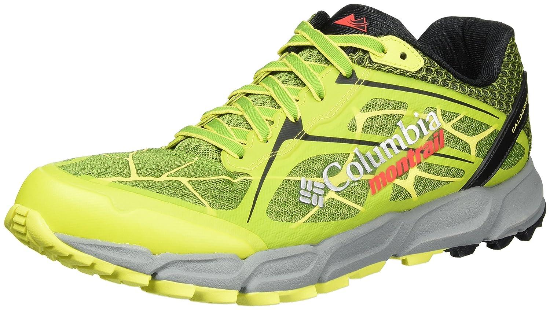 Columbia Caldorado II, Zapatillas de Trail Running para Hombre 40.5 EU|Multicolor (New Leaf Green/Zour)