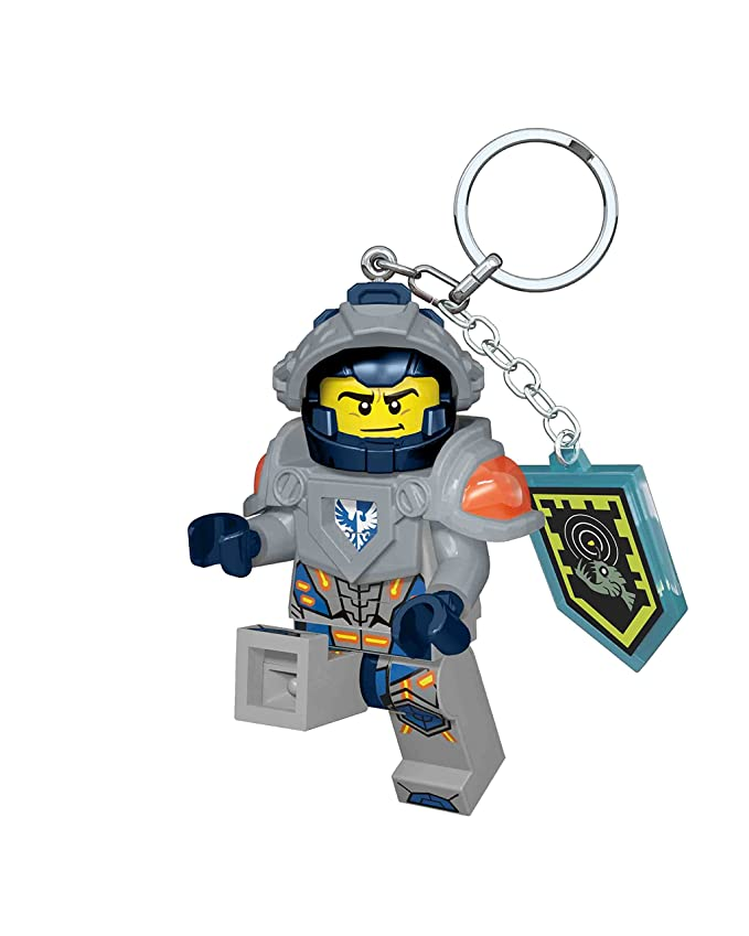 LEGO LED - lg0ke87 Nexo Knight - Llavero LED Clay: Amazon.es ...